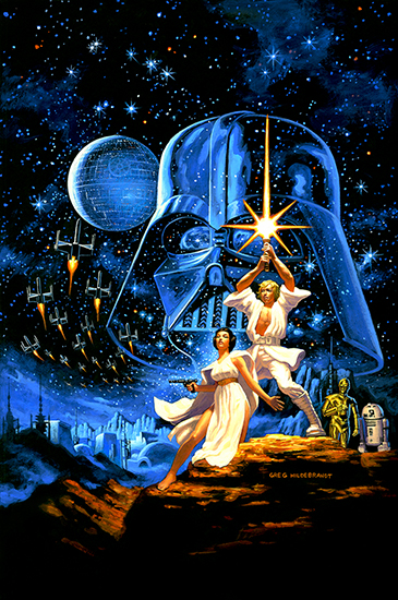 Star Wars by Greg Hildebrandt