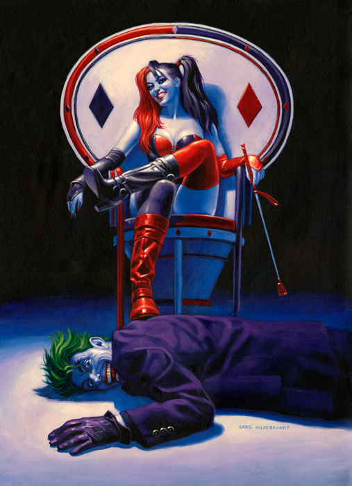 Whiplash by Greg Hildebrandt