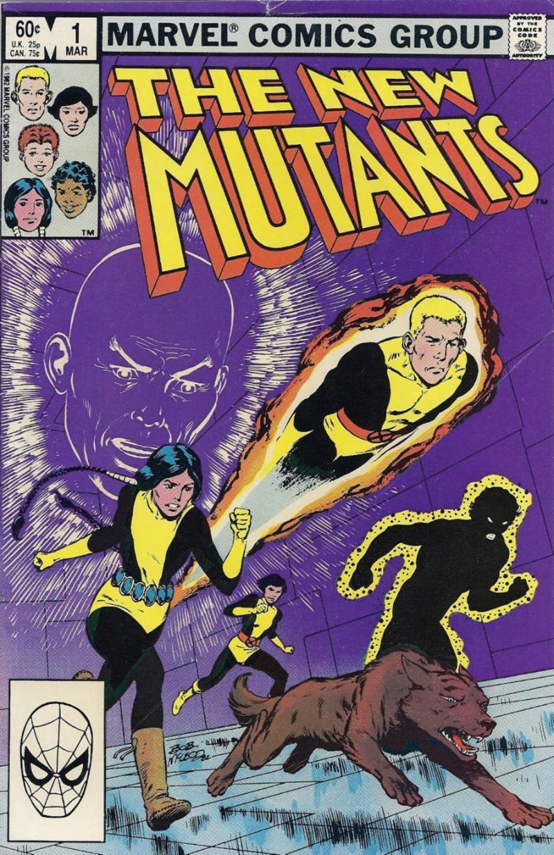 The New Mutants by Bob McLeod