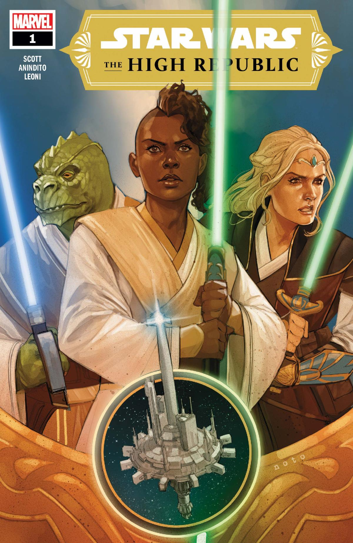 Star Wars: The High Republic by Mark Morales