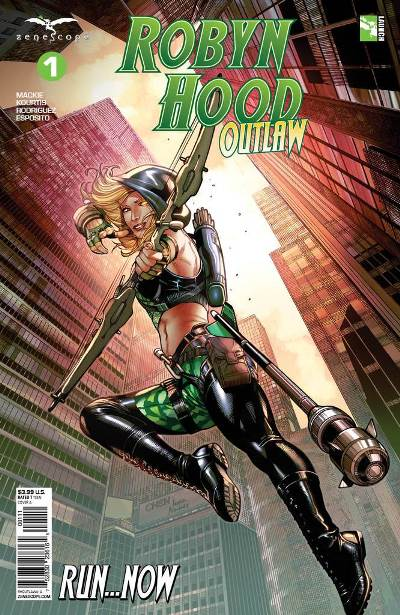 Robyn Hood_ Outlaw by Howard Mackie
