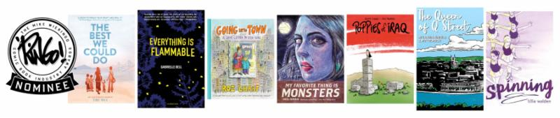 2018 Ringo Awards Best Non-fiction Comic Work Nominees