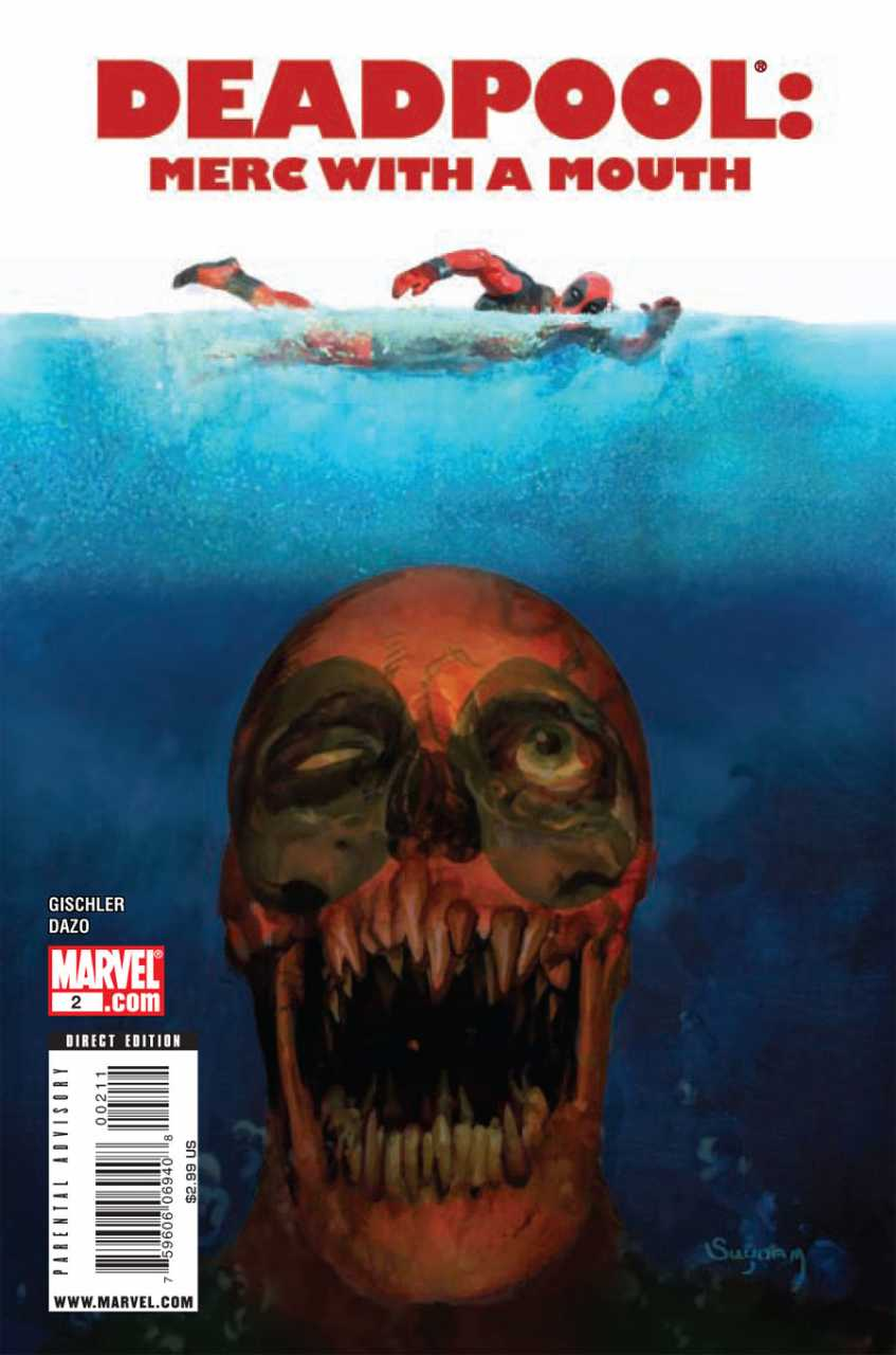 Deadpool Merc with a Mouth by Arthur Suydam