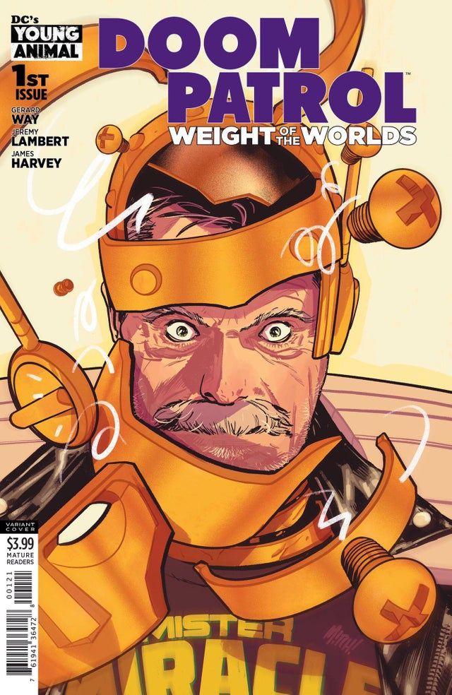 Doom Patrol_ Weight of the Worlds by Mitch Gerads