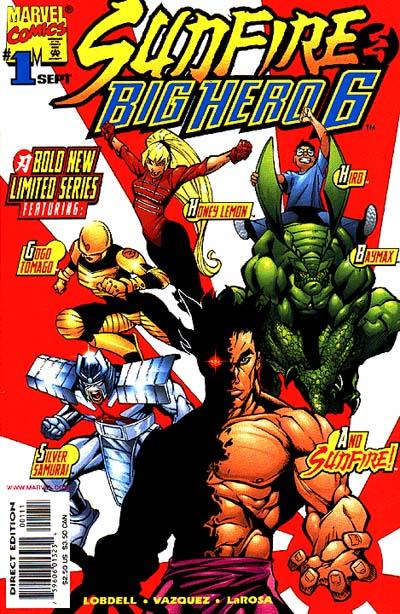 Sunfire _ Big Hero Six by Gus Vazquez