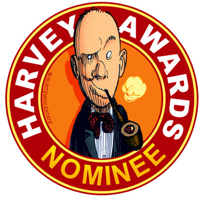 Harvey Awards Nominee Logo