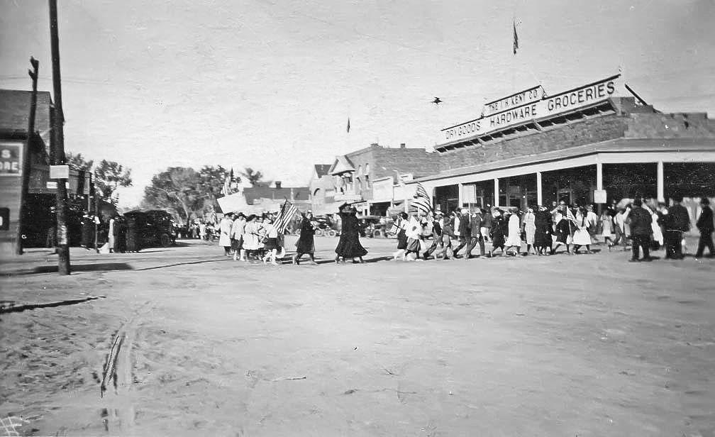 Suffrage Parade Fallon