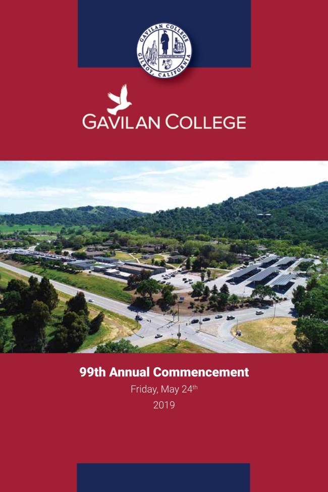 2019 Commencement Program