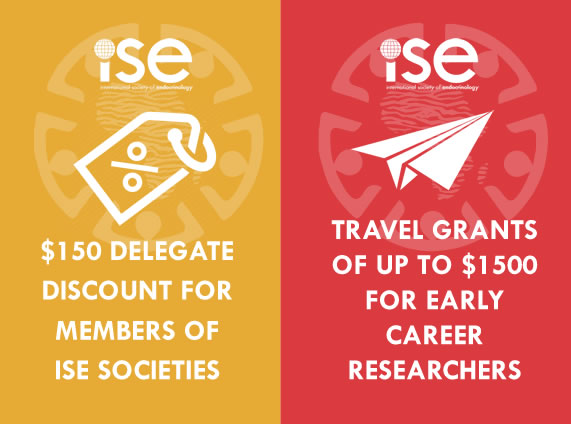 _150 ISE Member discounted registration and Travel Grants for up to _1500 for early career members