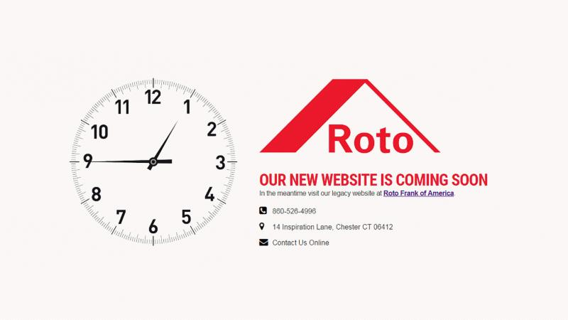 Roto North America website