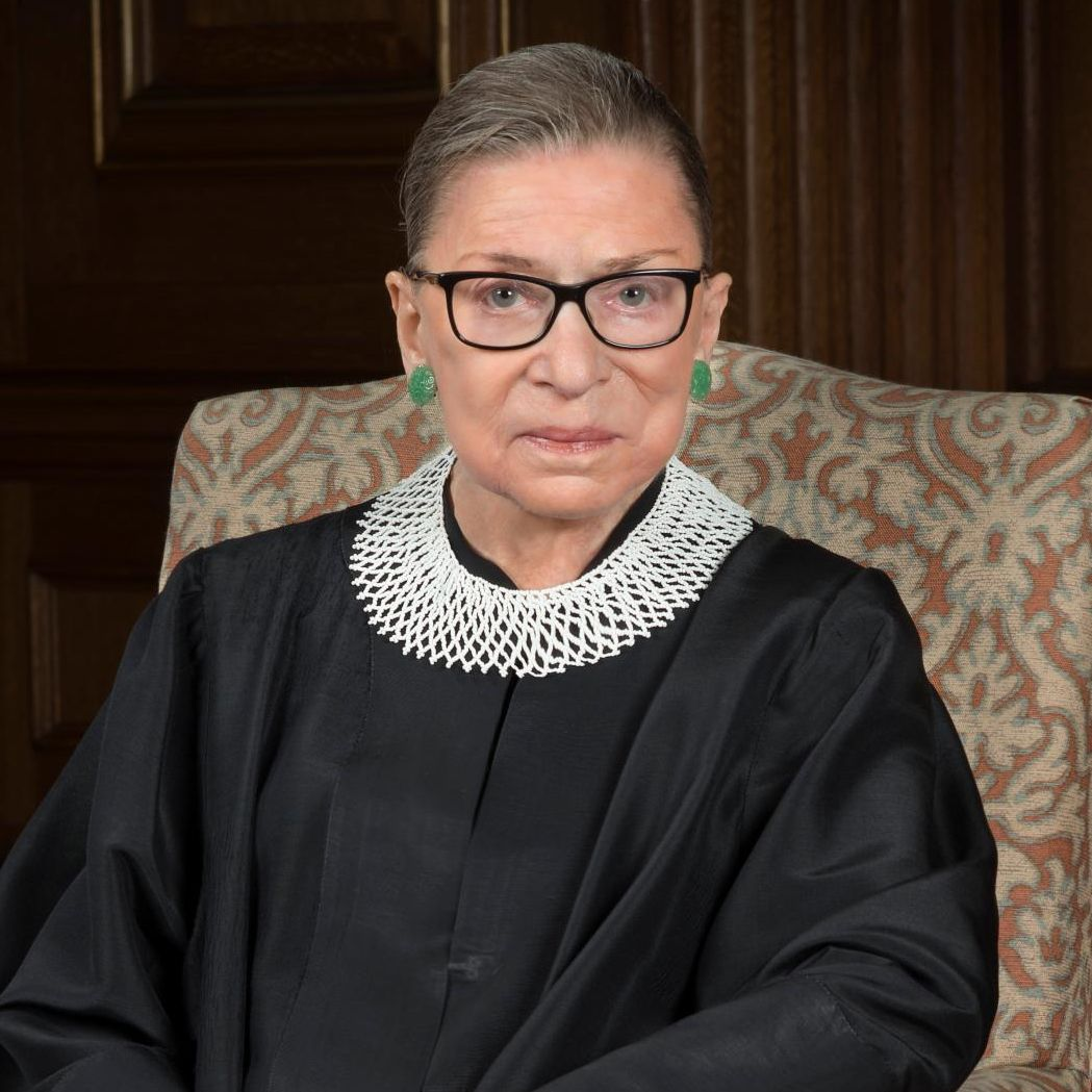 Justice Ginsburg official US Supreme Court portrait