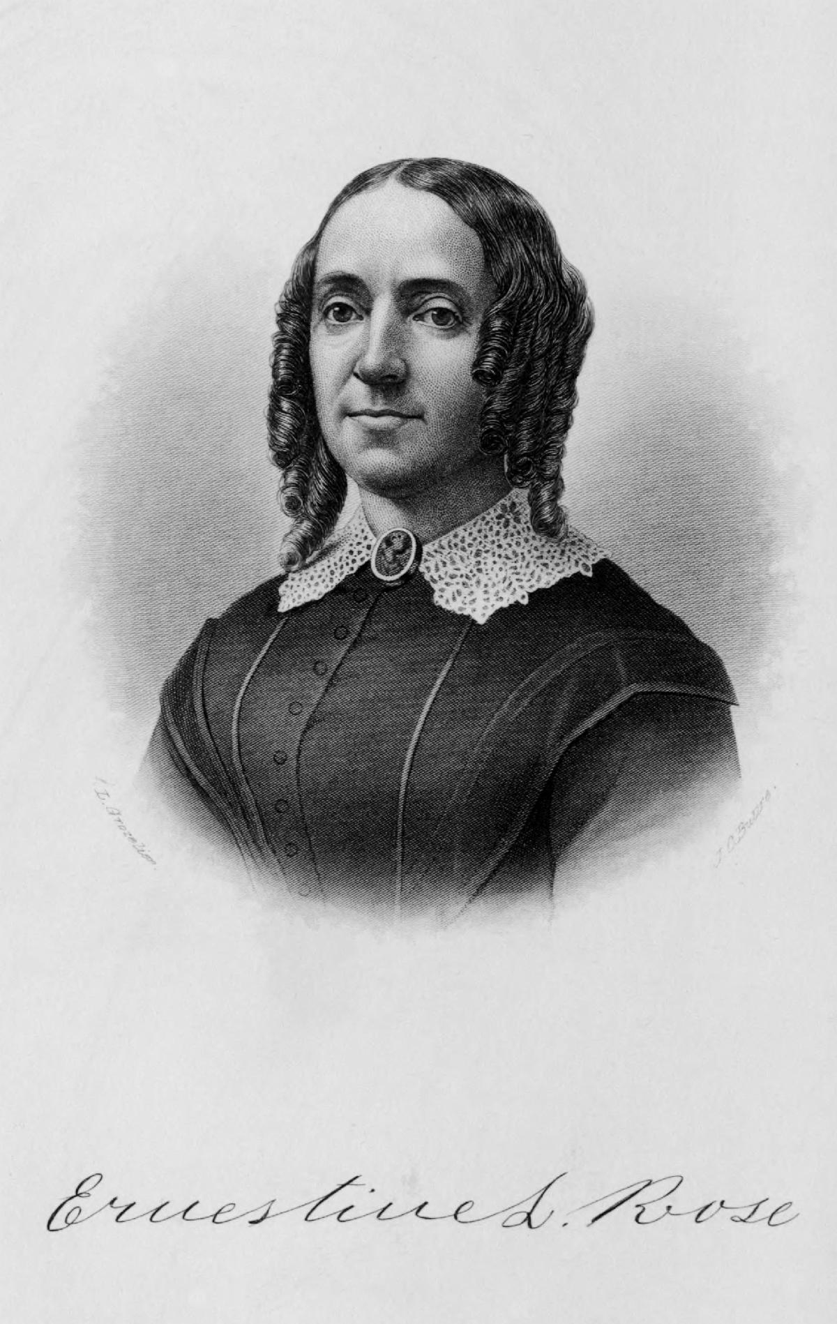 Ernestine Rose 1887-SBAnthony Rochester NY