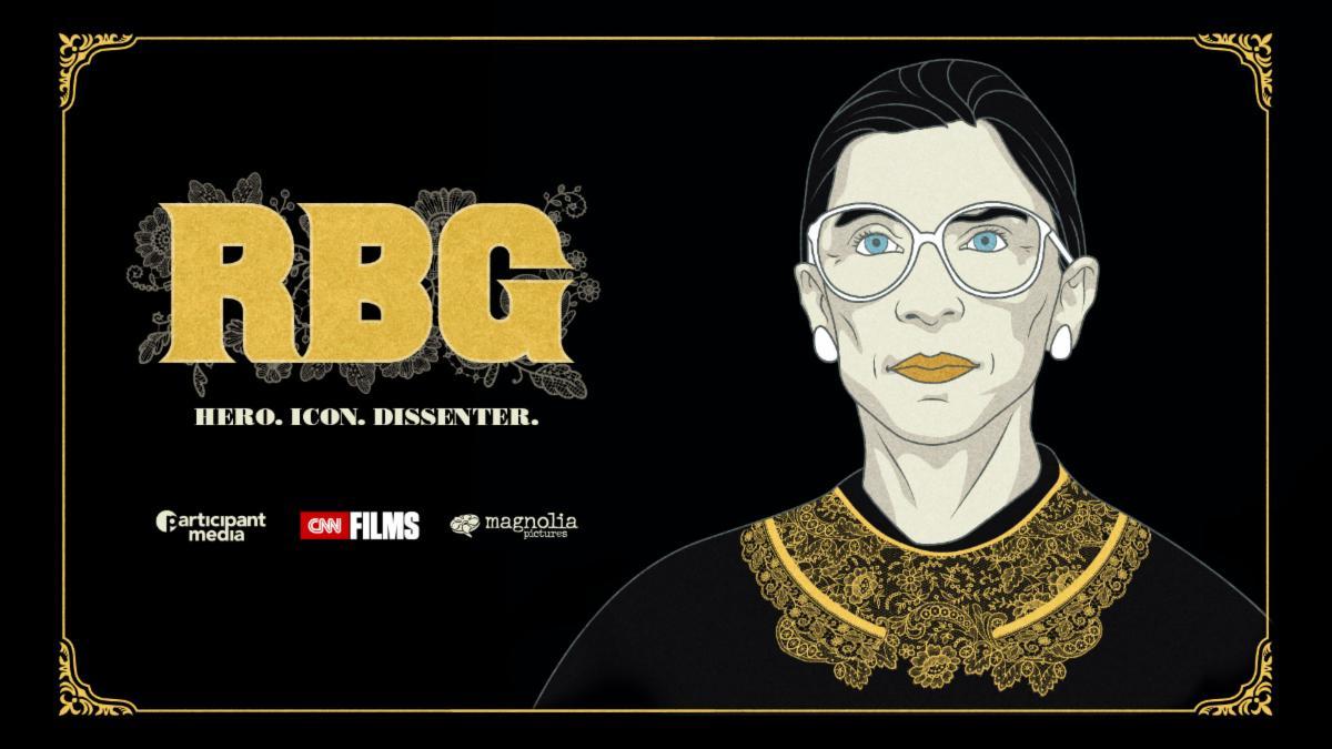 RBG documentary movie poster