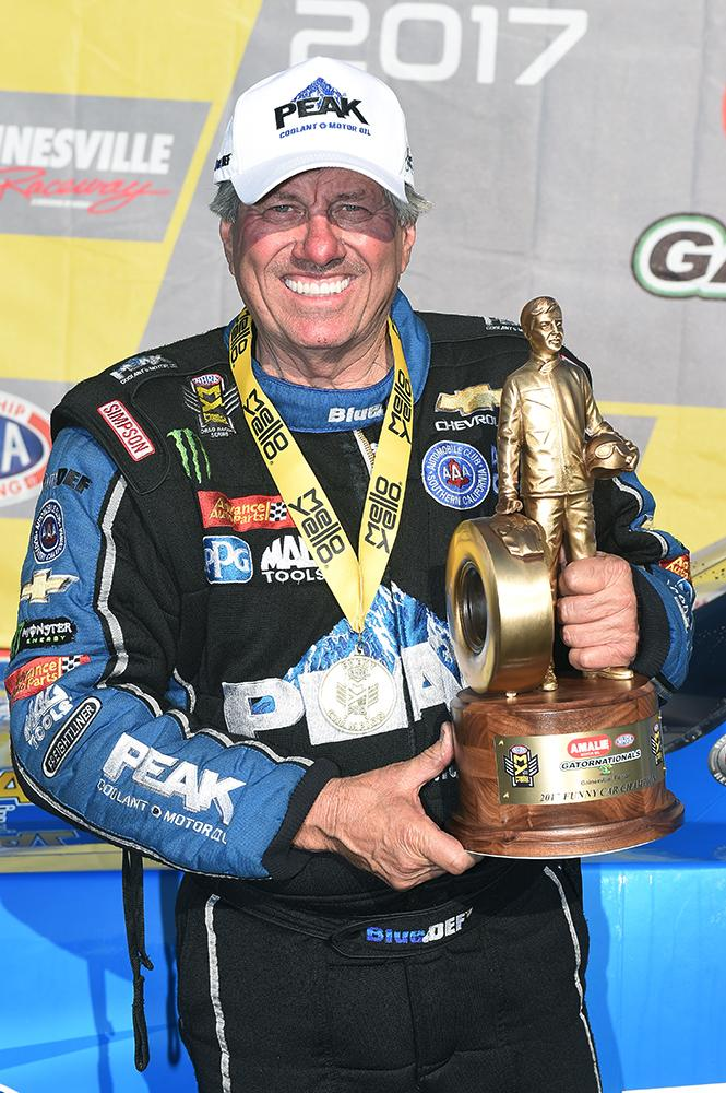 John Force Racing's 2,500th Funny Car round win