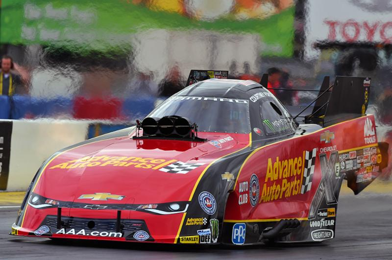 Courtney Force looking for consistency after Vegas first round