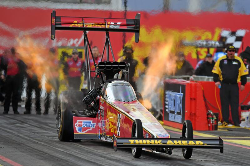 Outside The Box Brittany Force And Advance Auto Parts Head East For
