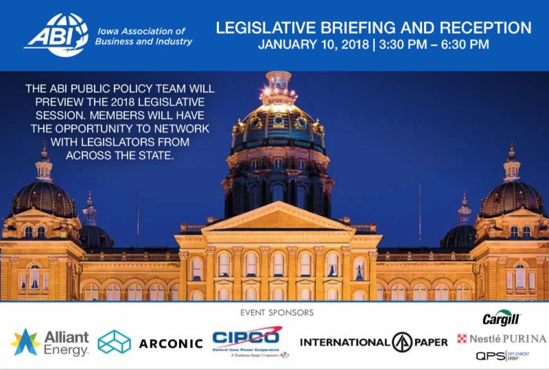 2018 Legislative Briefing and Reception
