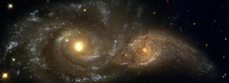 Two Galaxies Header
