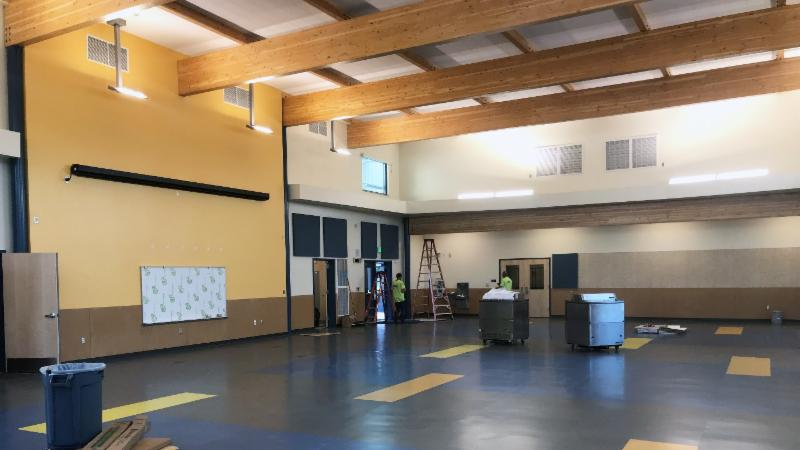 Park Orchard multipurpose room September 2018