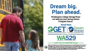 WA529 Dream big plan ahead
