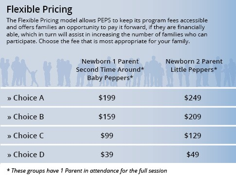 Flexible Pricing Choices