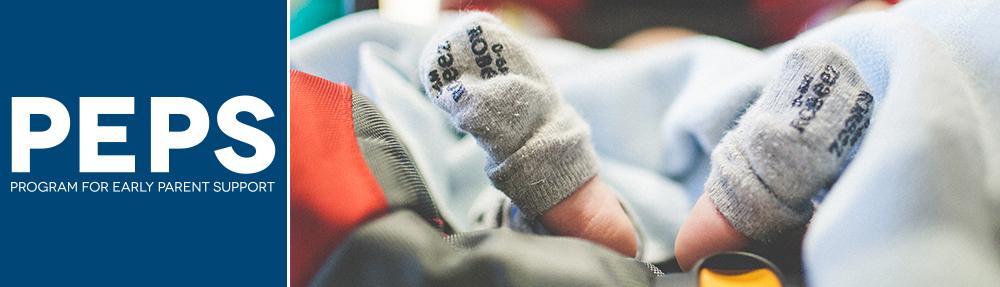 Socks falling off baby feet