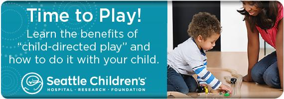 Learn the benefits of child directed play and how to do it with your child
