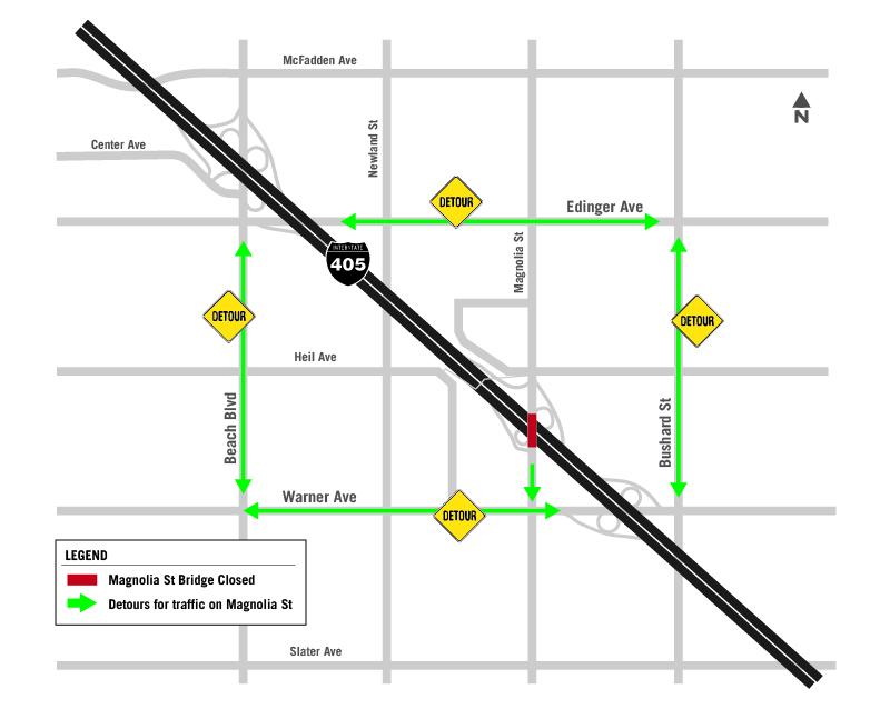 I-405 Improvement Project construction alert: Week of