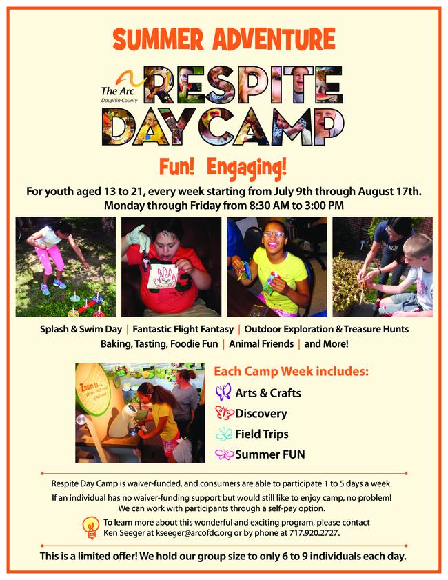 Respite Day Camp