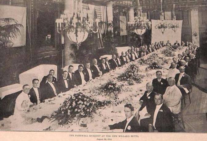 Aug 1916 Dinner