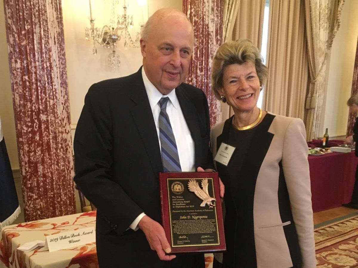 Ambassador Negroponte Annenberg Award
