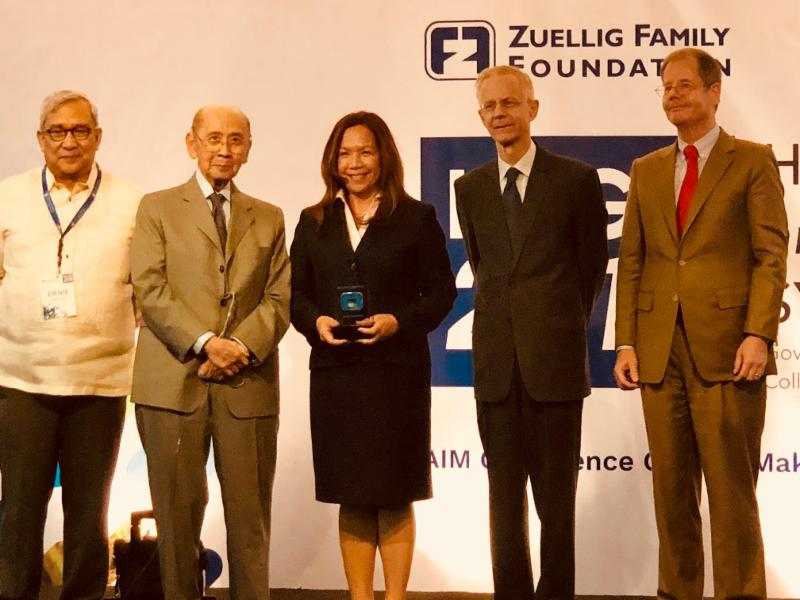 Zuellig Family Foundation Apreciation