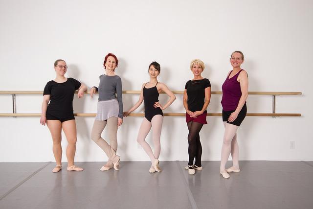 Wilmington Ballet Adult Dancers