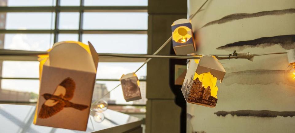 History Colorado lanterns
