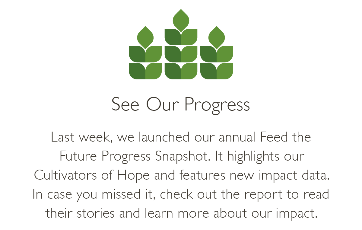 See Our Progress-Last week we launched our annual FTF Progress Snapshot