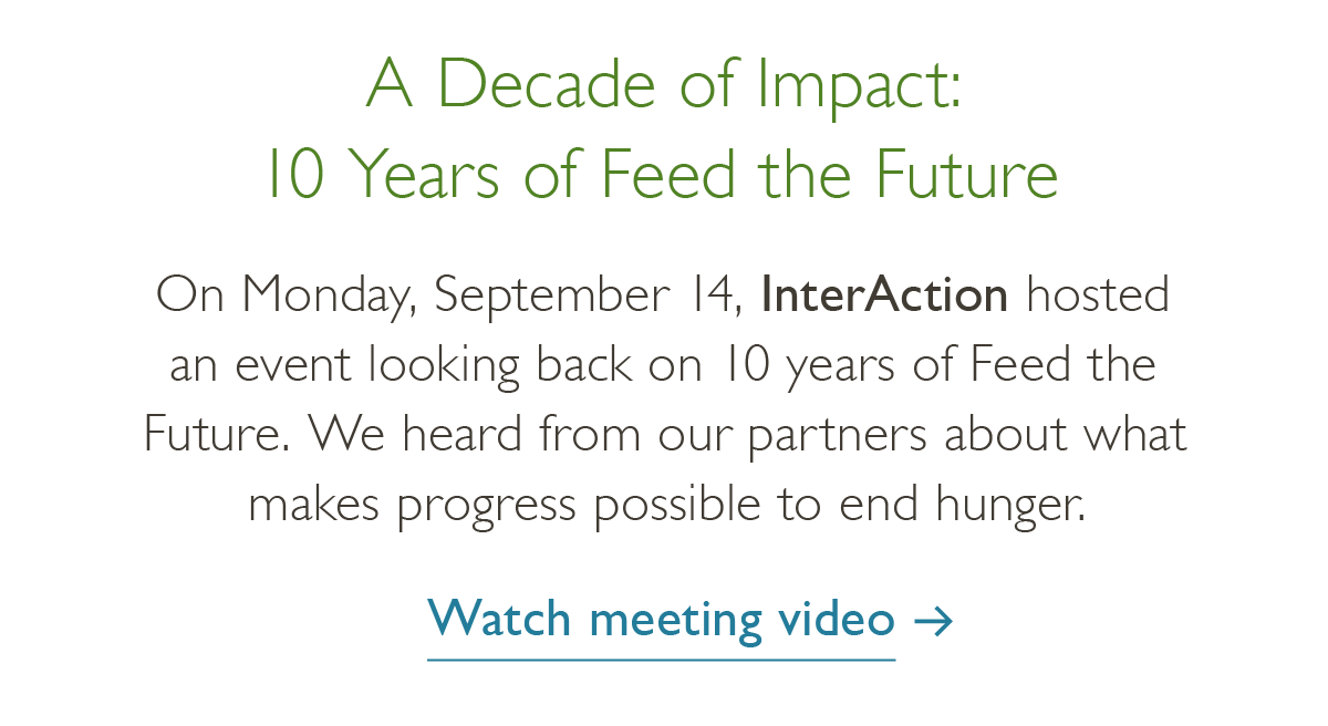 A decade of impact-watch the meeting video