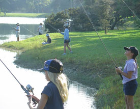 childdren kids fishing water