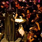Una orquesta en escena