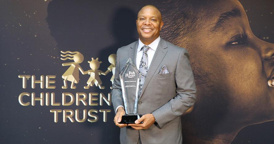 The Children's Trust's Champions for Children David Lawrence Jr. Honoree Morris Copeland.