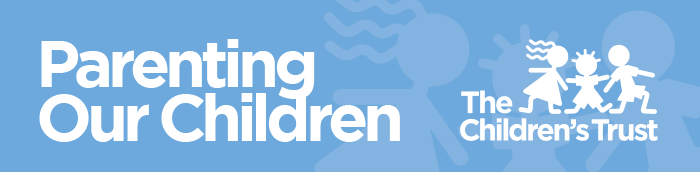 Parenting Our Children Newsletter Header - Logo for The Children's Trust