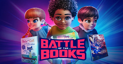 Get ready to battle over reading and books.