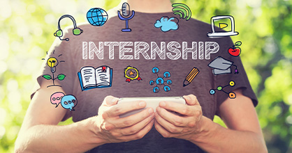 There are plenty of choices for students in the Summer Internship Program.