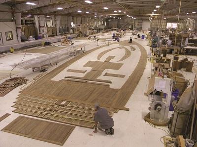 Teak Deck Manufacturing