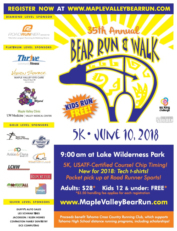 Bear Run poster