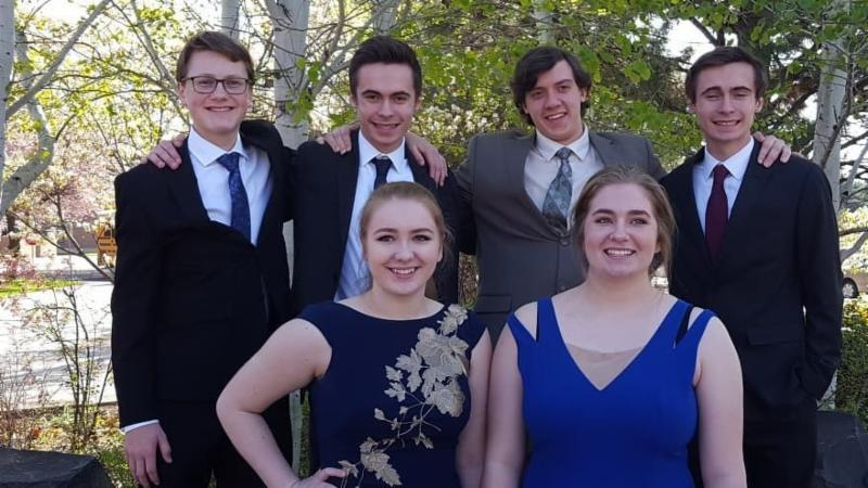 Students who performed in the state solo and ensemble contest