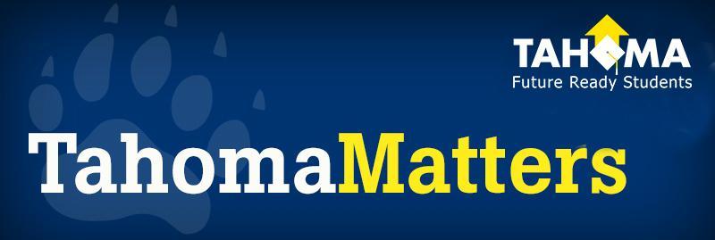 Tahoma Matters header