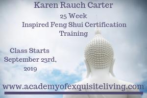 Feng Shui Certification September 2019 with Karen Rauch Carter