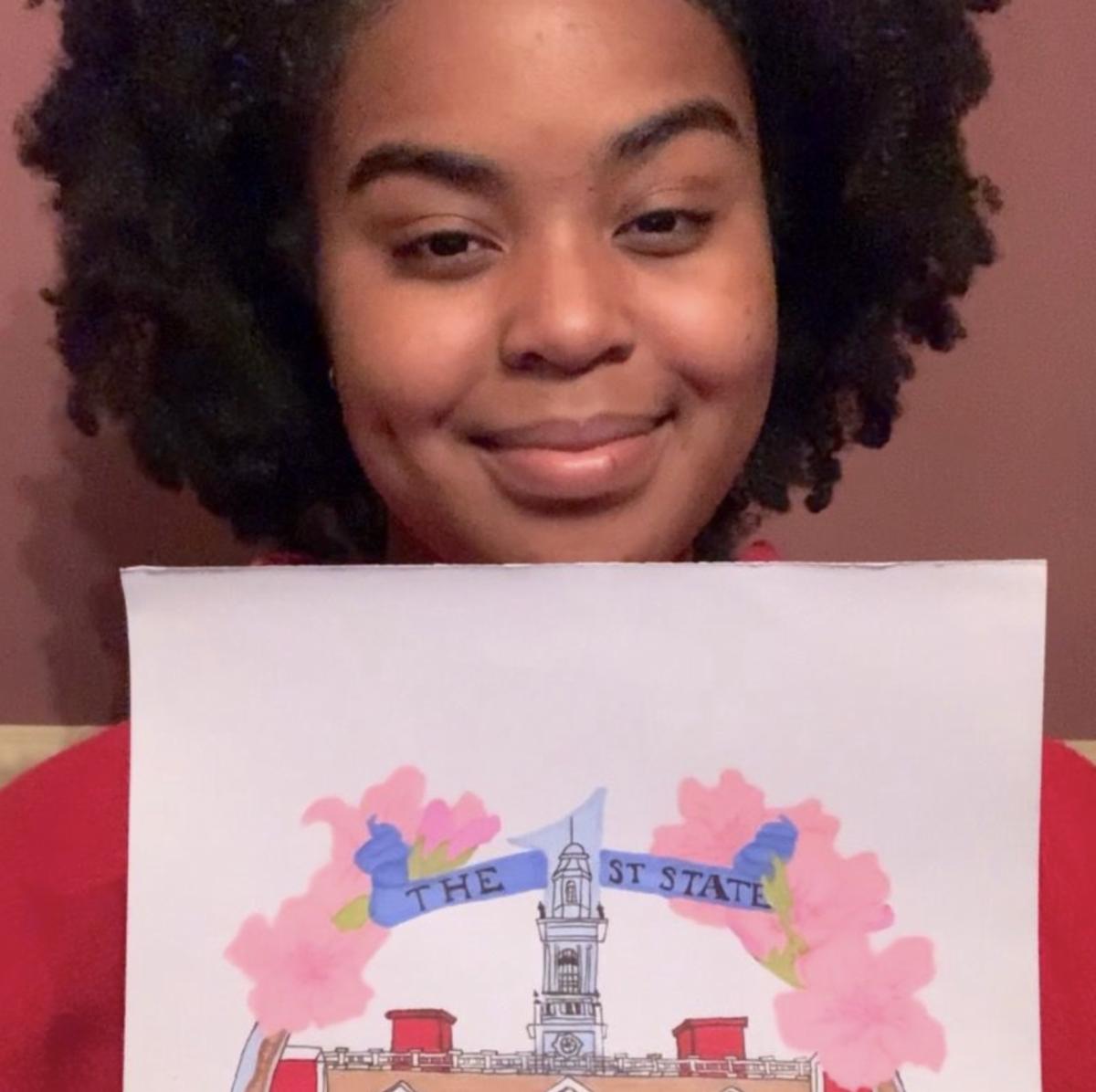 Newark High School Student - Hope McElveen - Christmas Ornament