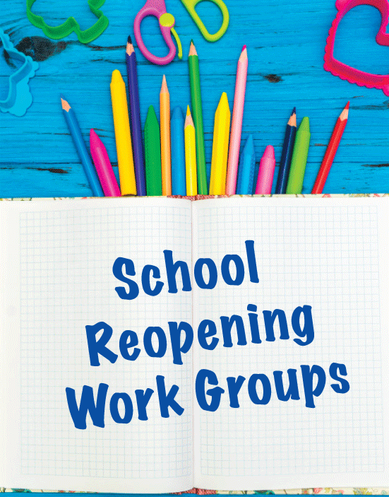 Christina School District Reopening Work Groups