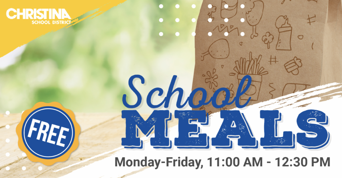 Christina School District School Meals